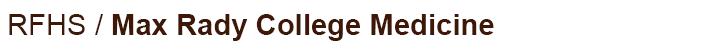 Max Rady College of Medicine