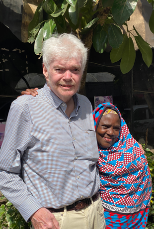 The day before his passing in Nairobi, Dr. Frank Plummer was reunited with Hawa, a research participant who was found to have natural immunity to HIV nearly 30 years ago.
