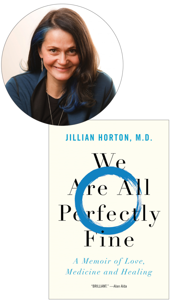 Jillian Horton and her book, We Are All Perfectly Fine