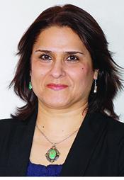 Portrait of Dr. Soheila Karimi.