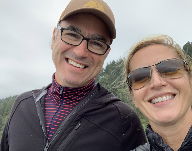 Portrait of Dr. Marc Mollot and Dr. Shelley Tottle-Mollot.
