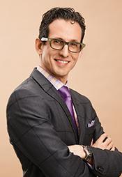 Portrait of Dr. Claudio Rigatto.