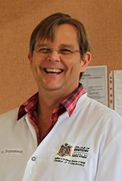 Portrait of Dr. Robert Drummond.